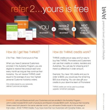 Get your Thrive FREE!