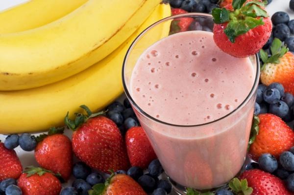 Thrive gluten-free Shake Mix smoothie