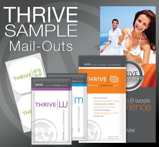 Thrive Sample Mail Out